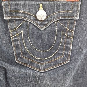 Like New True Relgion flare jeans